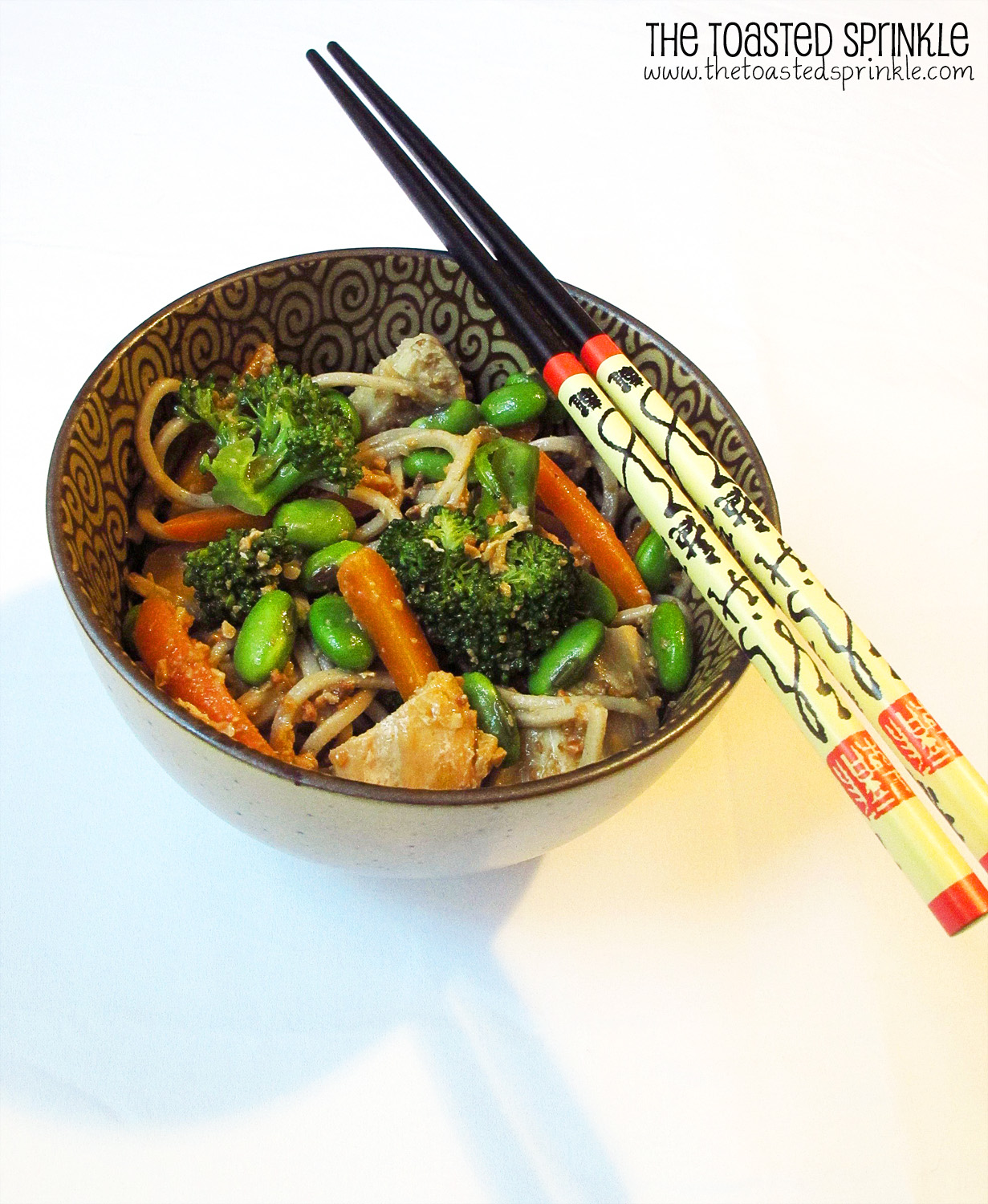 Cold Noodles with Peanut Sauce