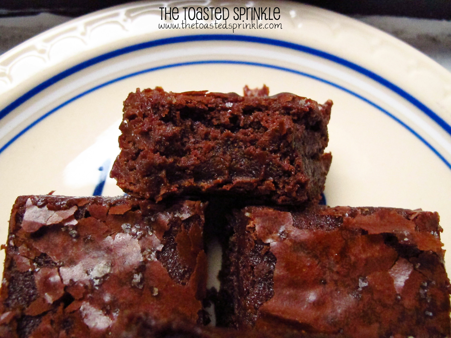 Sea Salt and Caramel Brownies