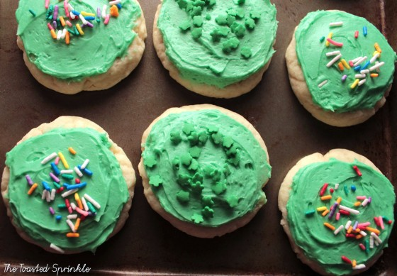 st paddys cookies