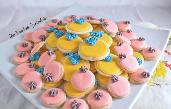 lemon icebox cookies via The Toasted Sprinkle