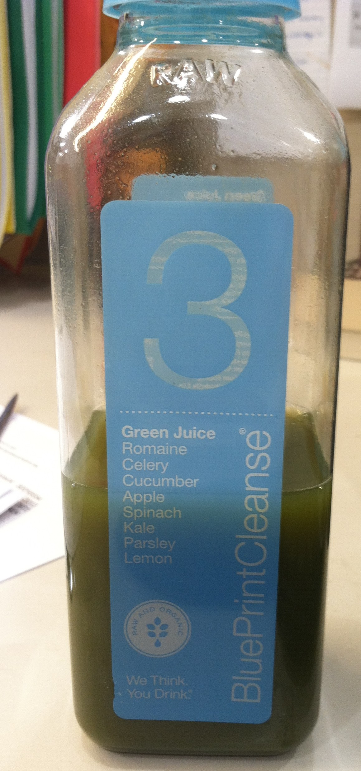Blueprint juice cleanse green juice lunch on my last day of the cleanse malvernweather